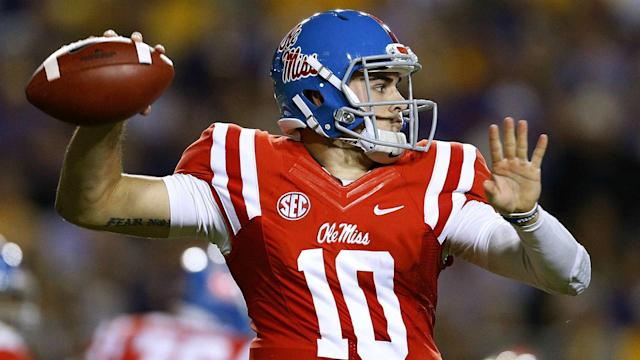 The troubled Ole Miss quarterback has top-level talent, but injury concerns and off-field issues moved him down to the final pick.