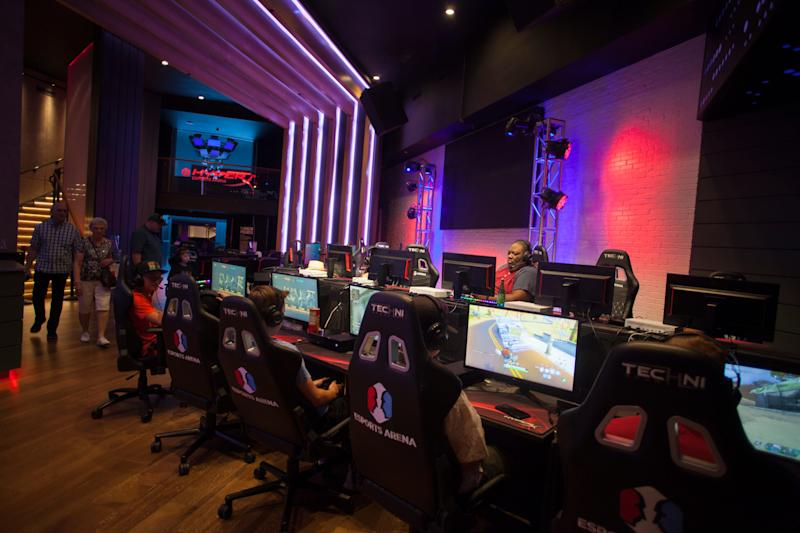 The Luxor is home to the HyperX Esports Arena Thursday, June 13, 2019.