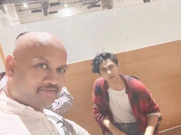 Narcotics Control Bureau clarifies that man in picture with Aryan Khan is not an officer or employee of NCB (Photo/ANI)