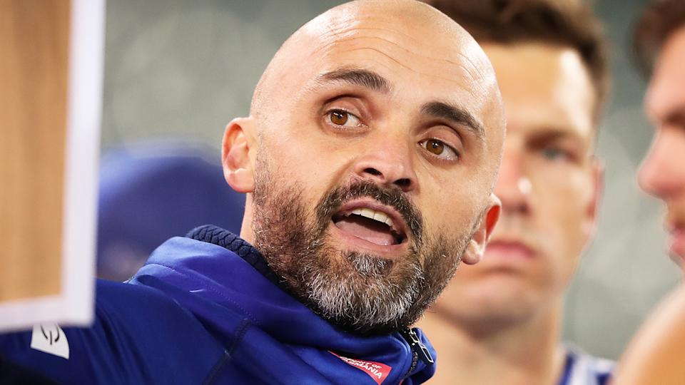 Rhyce Shaw has been hired by the Gold Coast Suns, months after reaching a mutual agreement to part ways with AFL rival North Melbourne. (Photo by Matt Turner/AFL Photos)