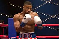 <p>Rocky Balboa is tough, but his protege, played by Michael B. Jordan, encompasses everything the word means in spades. He's cut. He fights like a champion against stronger and faster competition. And he knows what fighting might cost him, yet he gets in the ring anyway.</p>