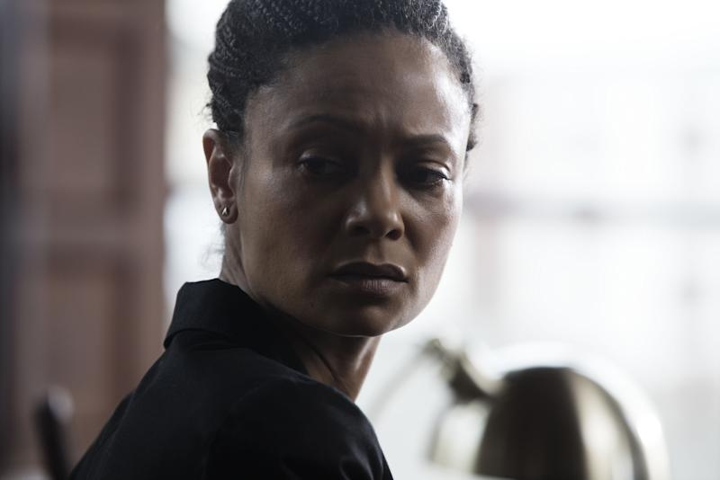 Photo credit: Thandie Newton in 'Line of Duty' series 4