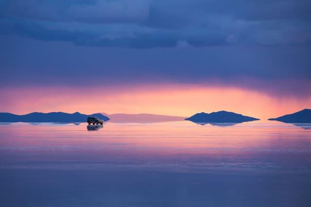 Mirror Image: The World's Largest Salt Flats Reflect Perfect Skies