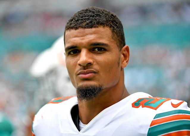 The Dolphins continued their talent purge Monday, adding to their stockpile of draft picks by dealing Minkah Fitzpatrick. (Reuters)
