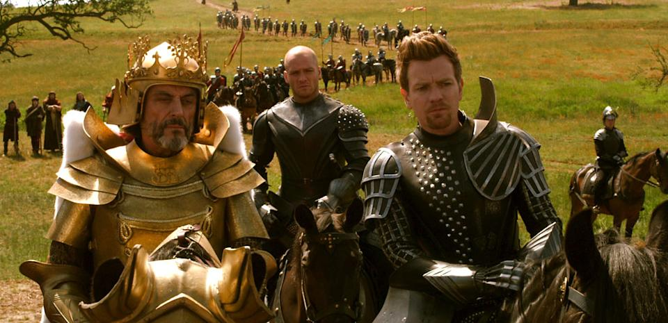 """Ian McShane and Ewan McGregor in Warner Bros. Pictures' """"Jack the Giant Slayer"""" - 2013"""
