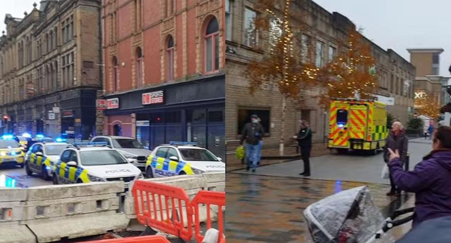 Officers and medics were sent to the scene in Burnley. (Reach)