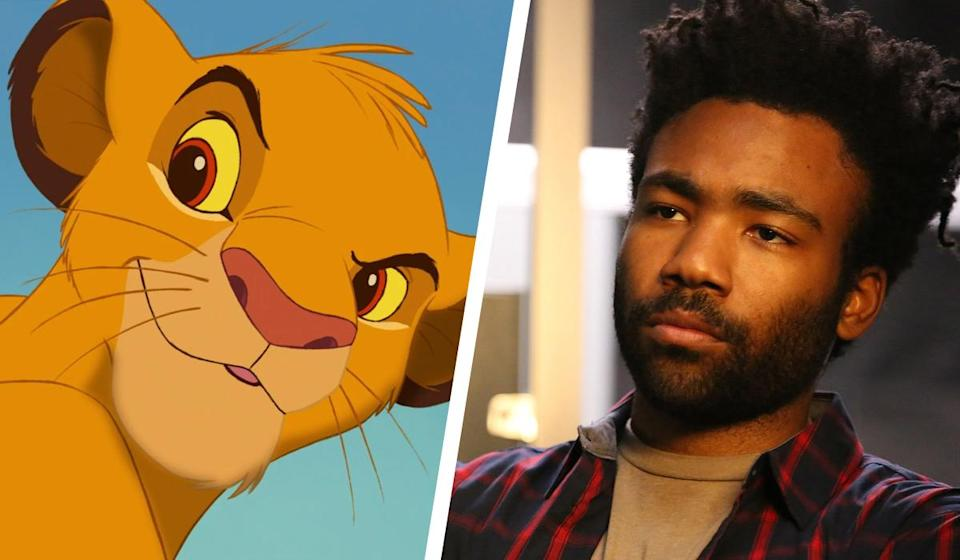 <p>He's the son of Mufasa and heir to the Pride Lands… and in the live-action remake, Simba will be played by none other than Donald Glover. Perhaps best known as Troy Barnes in the NBC sitcom, 'Community', he'll also be starring as Lando Calrissian in the upcoming Han Solo movie. Yes, he's really that cool. </p>