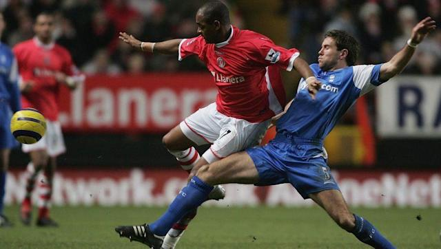 <p>Upson played 11 games for Arsenal in the 2001/02 season, which earned him a Premier League winner's medal.</p> <p>After failing to establish himself in the Gunners' first team, he moved to Birmingham in 2003.</p> <p>The defender enjoyed four years at St. Andrew's but suffered the disappointment of relegation in 2006.</p> <p>Consequently, he moved to West Ham, where a four-and-a-half year spell in east London finished with relegation to the Championship once again.</p>