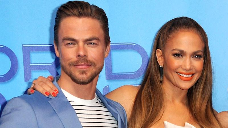 Derek Hough Reveals Why He Won't Dance In Front of Jennifer Lopez (Exclusive)