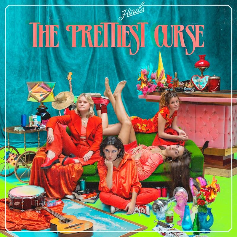Hinds - The Prettiest Curse - Album Art track by track