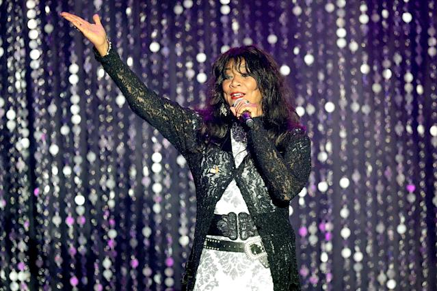 <p>Joni Sledge was a founding member of the family vocal group Sister Sledge. She died March 10 of natural causes at the age of 60.<br> (Photo: Andreas Rentz/Getty Images) </p>