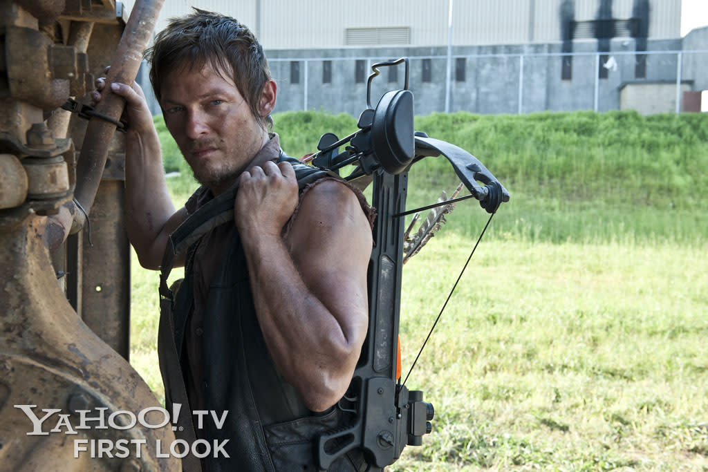 "Daryl Dixon (Norman Reedus) in ""The Walking Dead"" Season 3."