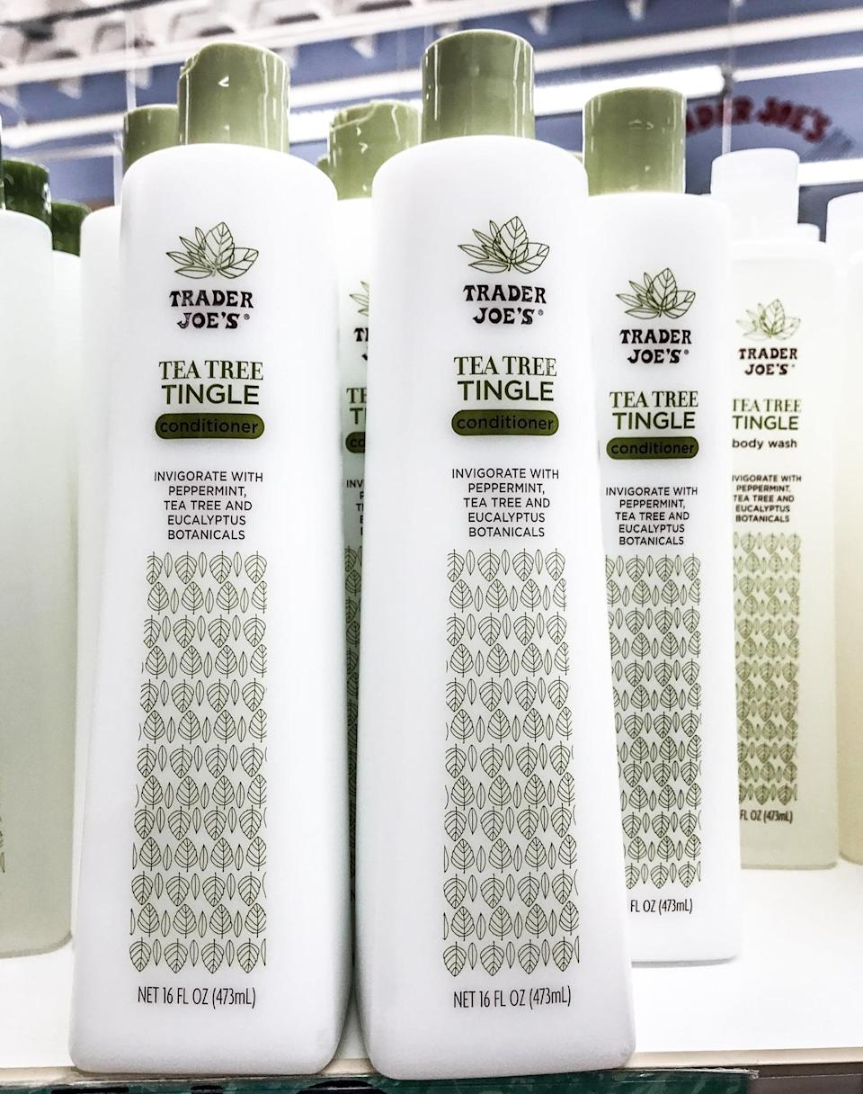 <p>Ingredients from the peppermint, tea tree, and eucalyptus realm will have your hair feeling ultra refreshed. And for under $5, we're in.</p>