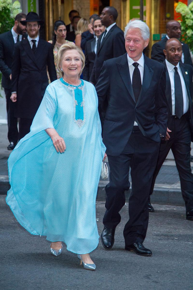 This Billionaire Wedding Had Everything, Including Hillary Clinton ...