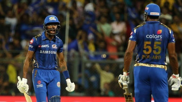 Kieron Pollard and Hardik Pandya launched a breathtaking assault on DC in IPL 2017