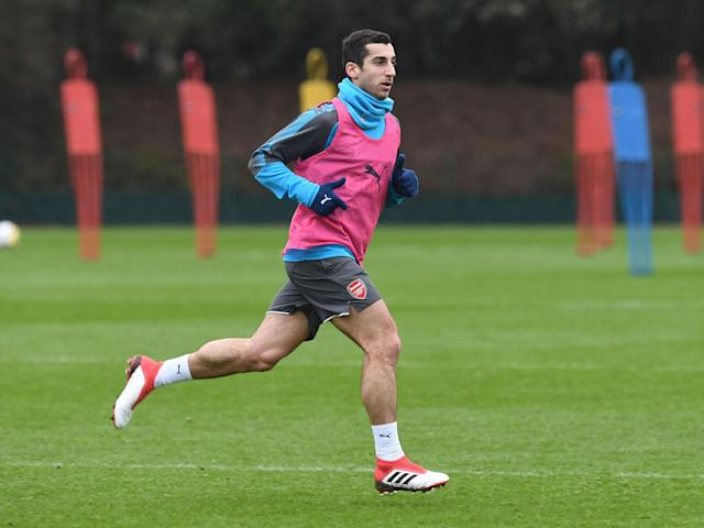 Henrikh Mkhitaryan is excited to link up with 'assist king' Mesut Ozil but will he be competing with him for the same spot?