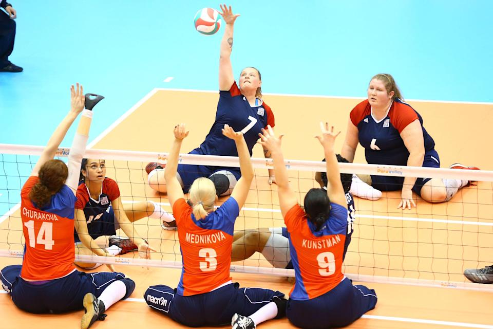 Women's sitting volleyball was added as a Paralympic sport in 2004 at the Athens Paralympic Games. China has won every women's gold medal except for one, when the U.S. took gold in 2016 in Rio.