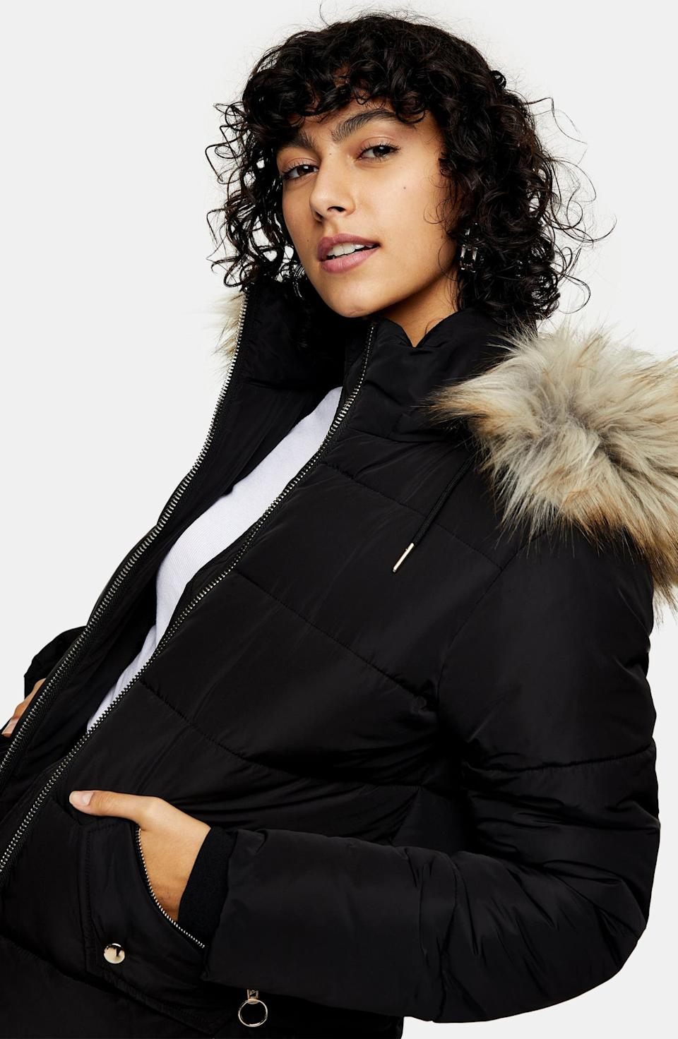 Save up to 50% on the latest outerwear styles with Nordstrom's winter coat sale. Image via Nordstrom.