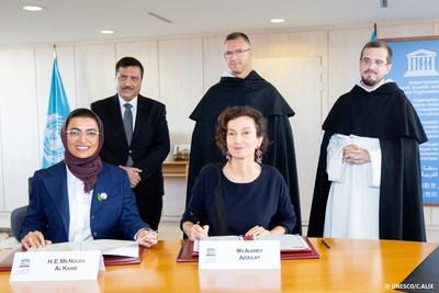 The United Arab Emirates and UNESCO renew partnership to restore two historic churches in Mosul, Iraq