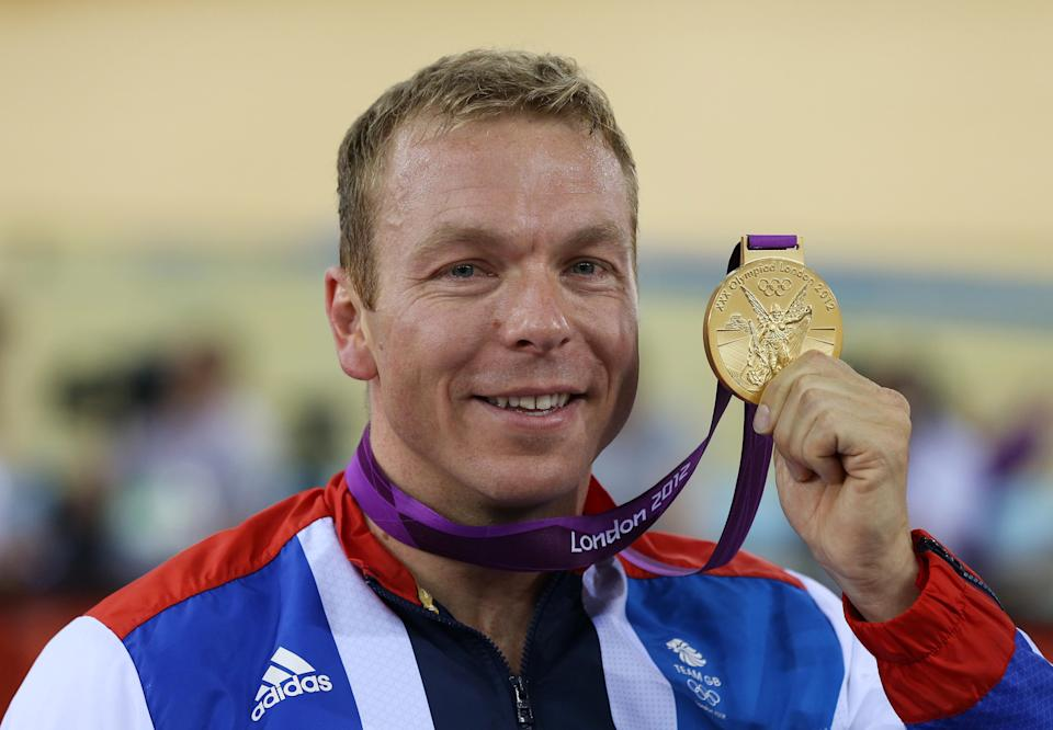 Hoy, 45, racked up a stunning six Olympic gold medals across a storied cycling career
