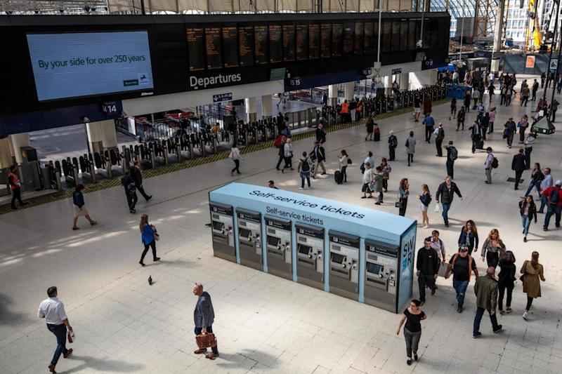 Waterloo station is the busiest in London (Getty Images)