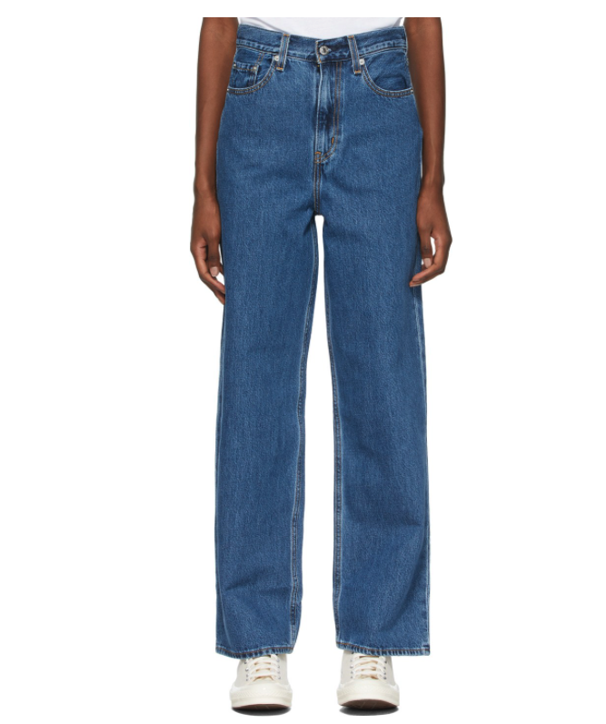 Levi's High Loose Cottonized Hemp Women's Jeans. Image via SSENSE.