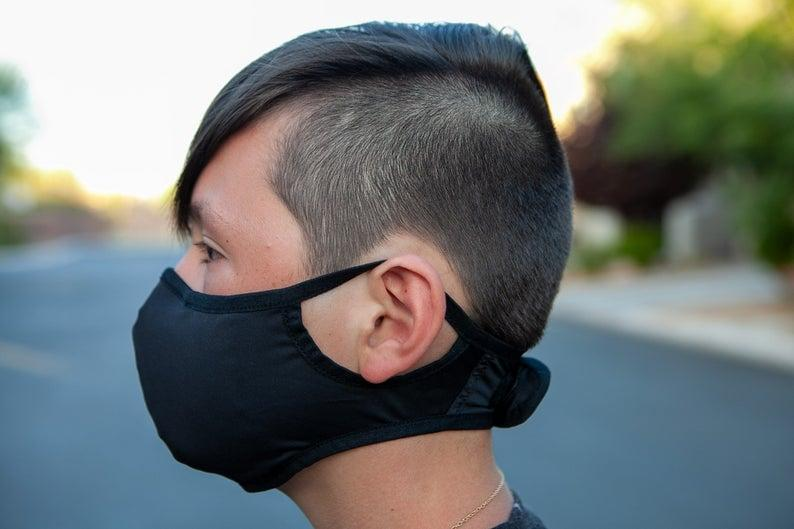 <p>This <span>Teen Sports Face Mask</span> ($15) is great for both teenagers and people who have smaller faces.</p>