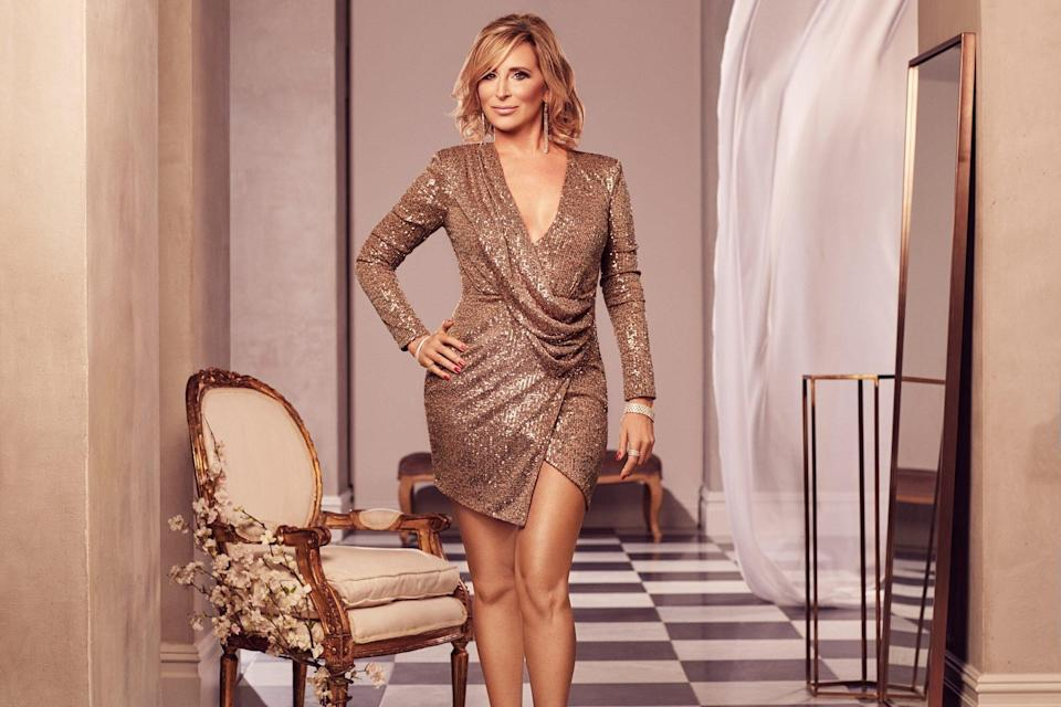 THE REAL HOUSEWIVES OF NEW YORK CITY Sonja Morgan