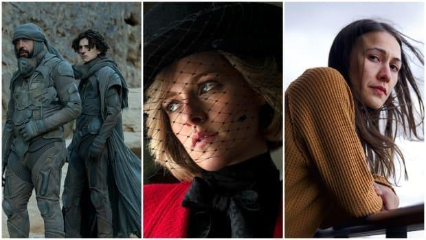 In this collage, scenes from the films Dune, Spencer and Night Raiders are shown. As the 2021 Toronto International Film Festival comes to a close, CBC News has compiled some of the biggest, buzziest, and most affecting entries. (TIFF - image credit)