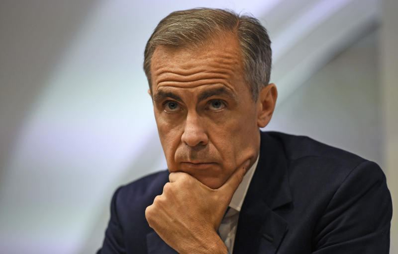 Bank Of England Governor Mark Carney's Term Extended