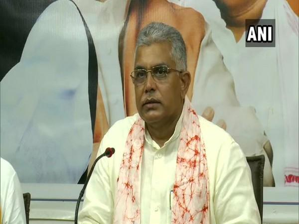 West Bengal BJP president Dilip Ghosh (file photo)
