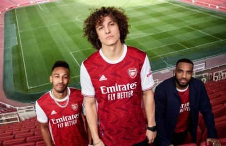 Novo uniforme Arsenal