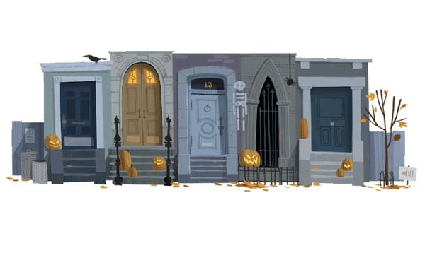 Google Goes Trick-or-Treating With an Interactive Halloween Doodle
