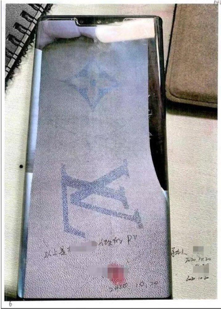 The group used patterns from real bags and samples and designs stolen by an insider at Louis Vuitton to manufacture the fakes. Photo: qq.com