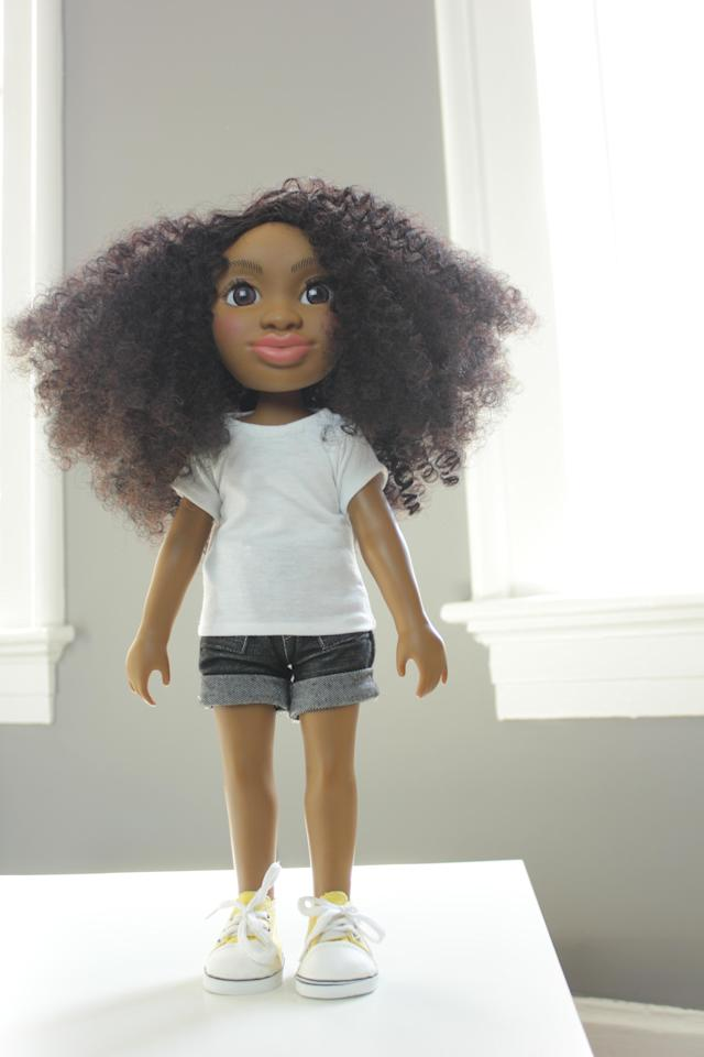 Healthy Root Dolls were made for children of color, with natural hair textures. (Photo: Courtesy of Yelitsa Jean-Charles)