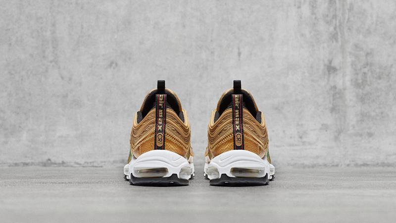 Cristiano Ronaldo's New Nikes Designed With Gold Patches Have a