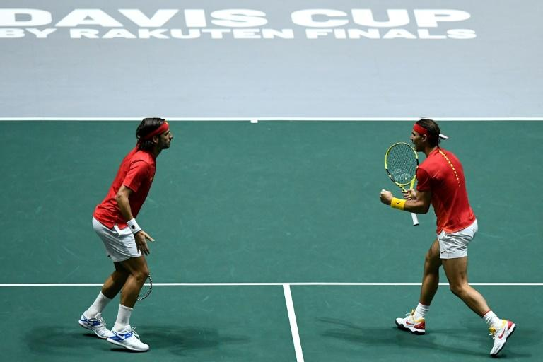 Nadal and Lopez sent Spain into the Davis Cup final