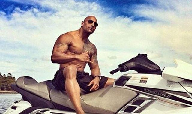 Dwayne 'The Rock' Johnson rips off electric gate with bare hands to avoid being late for work