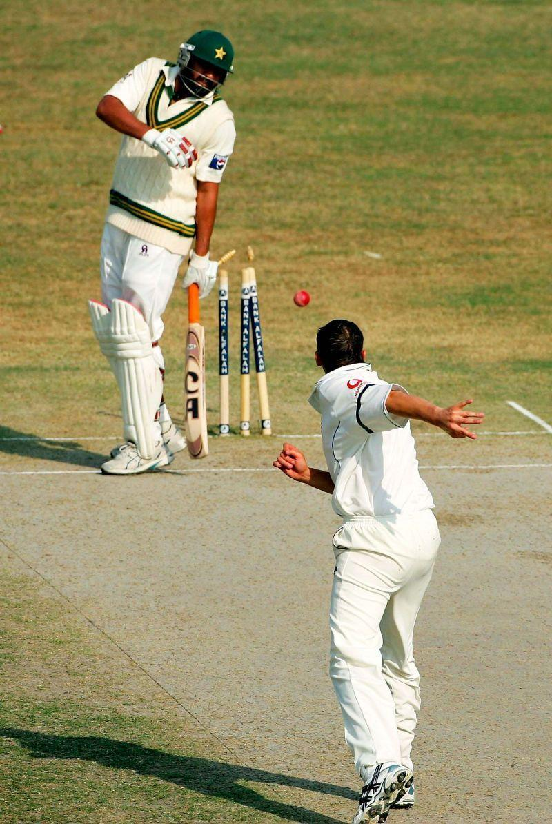 Inzy was always known for his terrible running between the wickets