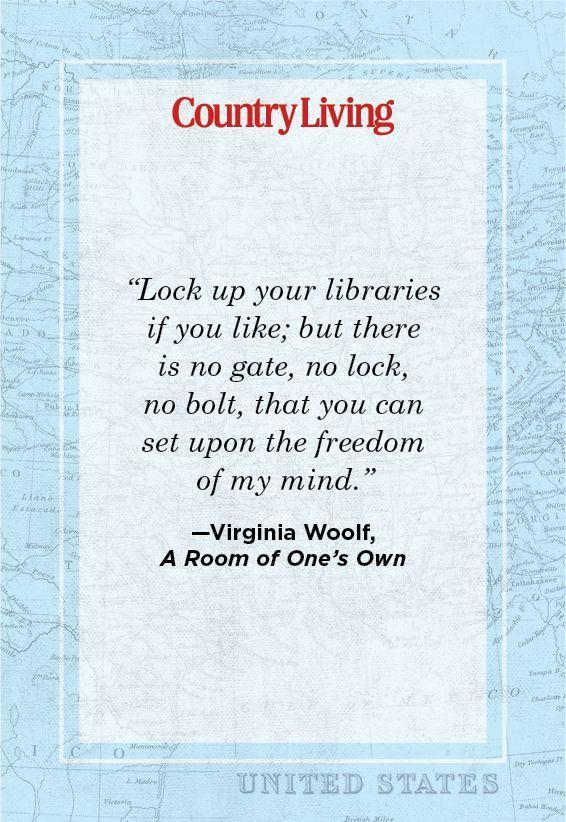 """<p>""""Lock up your libraries if you like; but there is no gate, no lock, no bolt, that you can set upon the freedom of my mind."""" </p>"""
