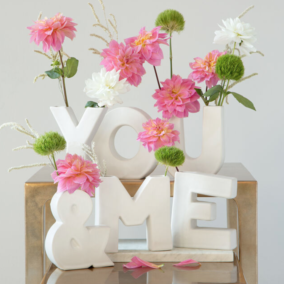 The Alphabet Vase (Photo via Uncommon Goods)