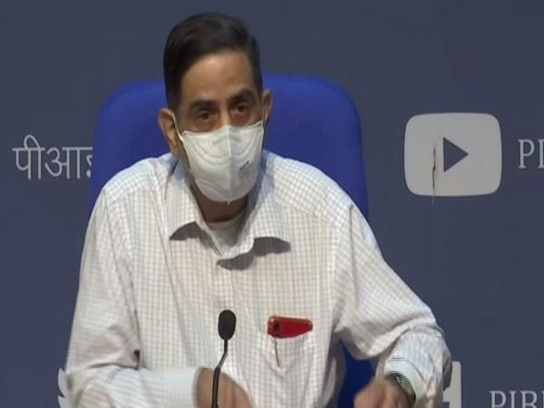 Director General of Indian Council of Medical Research, Balram Bhargava speaking at press conference in New Delhi on Tuesday. Photo/ANI