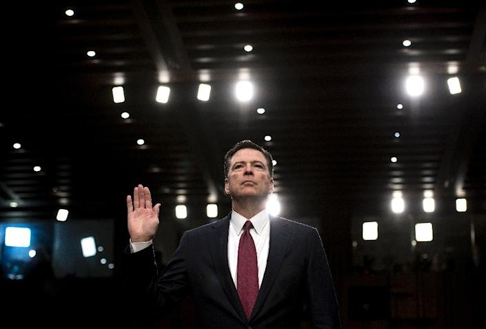 President Donald Trump's firing of ex-FBI director James Comey fueled allegations of a coverup of his campaign's ties to Russia and spurred the appointment of a special prosecutor and the empanelling of a grand jury (AFP Photo/Brendan Smialowski)