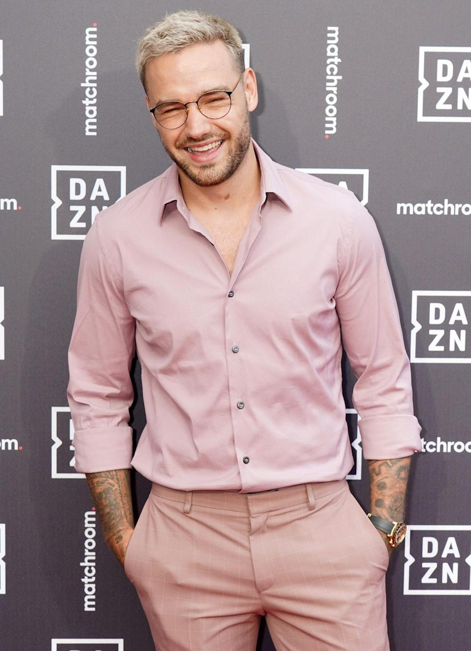 <p>Liam Payne arrives at the launch of Dazn x Matchroom at German Gymnasium in King's Cross, London on July 27.</p>