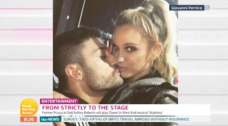 Giovanni Pernice with Ashley Roberts (ITV)