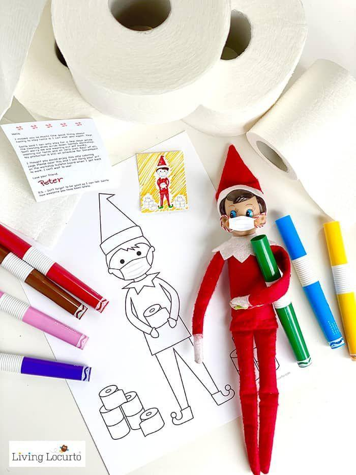 """<p>These printable coloring pages will provide your kids with more than just laughs. They're also a full activity in their own right—and that's something all parents are sure to appreciate.</p><p><strong>Get the tutorial at <a href=""""https://www.livinglocurto.com/elf-coloring-pages-face-mask/"""" rel=""""nofollow noopener"""" target=""""_blank"""" data-ylk=""""slk:Living Locurto"""" class=""""link rapid-noclick-resp"""">Living Locurto</a>.</strong> </p>"""