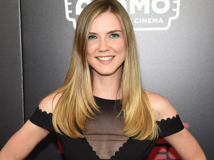 """Sara Canning in July 2017. <p class=""""copyright"""">Jamie McCarthy/Getty Images</p>"""