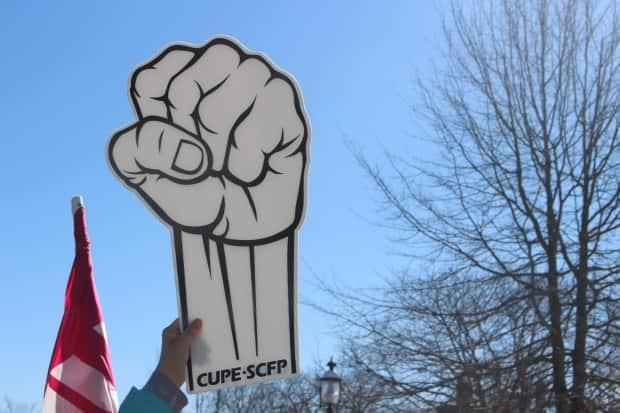 CUPE Local 1251, the union representing 800 correctional officers, human services, laundry and custodial workers, has filed a notice of deadlock in negotiations with the province. (Hadeel Ibrahim/CBC - image credit)