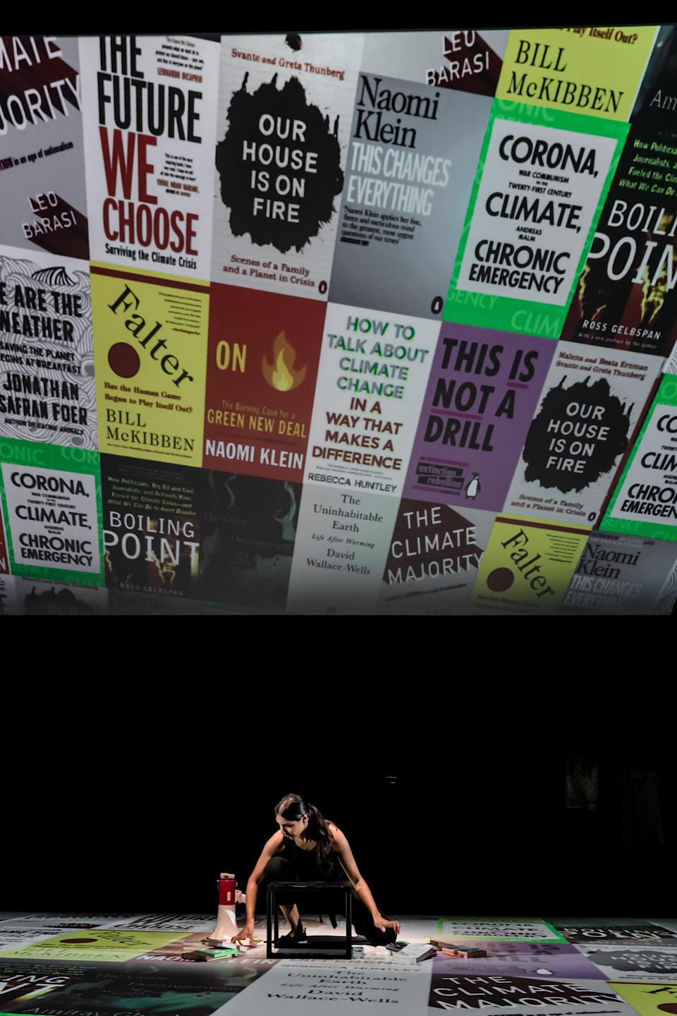 Extinct gives audiences a climate changed- themed reading list (The Other Richard)