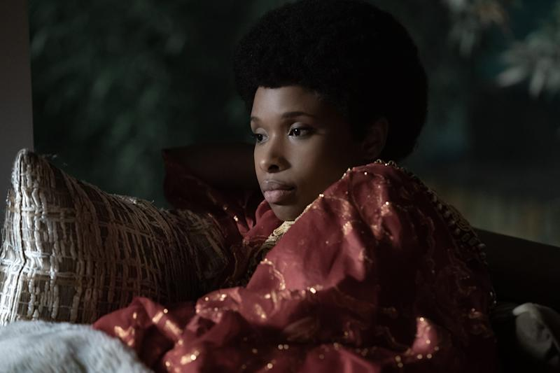 "Jennifer Hudson stars as Aretha Franklin in the MGM film ""Respect."""